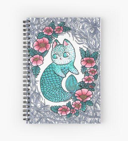 Mermaid kitty  Spiral Notebook