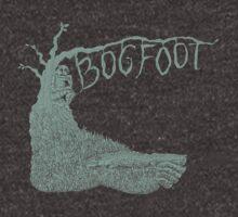 Bogfoot Swamp Thing Woodcut by SusanSanford