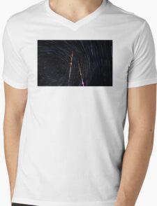 Space World Mens V-Neck T-Shirt