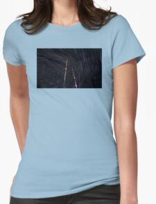 Space World Womens Fitted T-Shirt