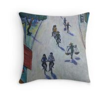 'Opal Road, Vietnam' Throw Pillow