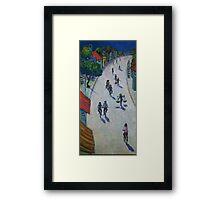 'Opal Road, Vietnam' Framed Print