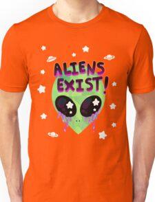 Aliens Exist! Unisex T-Shirt