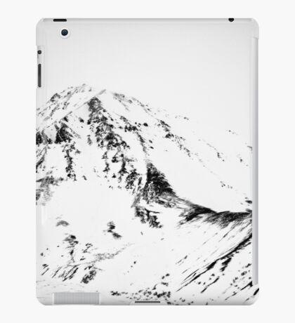Denali - Chiseled Mountain BW iPad Case/Skin