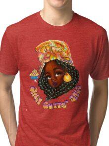 Shea Butter Babe  Tri-blend T-Shirt
