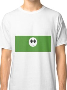 Shy Guy (Green) Classic T-Shirt