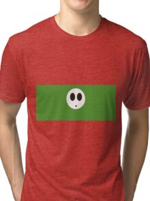 Shy Guy (Green) Tri-blend T-Shirt