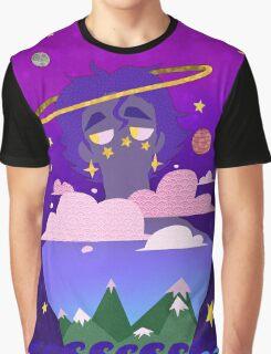 Jotaro Floats Away Graphic T-Shirt