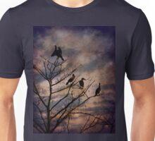 Cormorants at Twilight Unisex T-Shirt