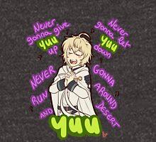 Never Gonna Let Yuu Down ♫ Unisex T-Shirt