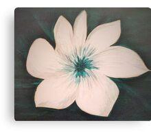Graceful Gardenia Flower Canvas Print