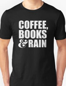 Coffee, Books & Rain T-Shirt