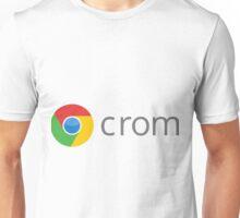 Google Chrome - Crom - LogoFake Unisex T-Shirt