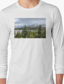 Alaska Mountain Range View Long Sleeve T-Shirt