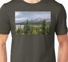 Alaska Mountain Range View Unisex T-Shirt