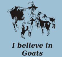I believe in goats! by Bonj