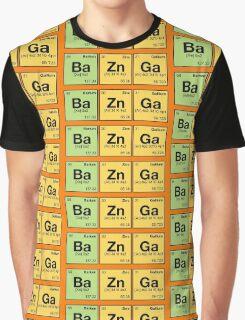 Ba Zn Ga! - periodic elements scramble Graphic T-Shirt