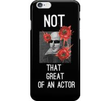 Something Rotten! Shakespeare  iPhone Case/Skin