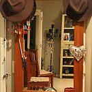 The Aussie Hallway Hatstand by aussiebushstick