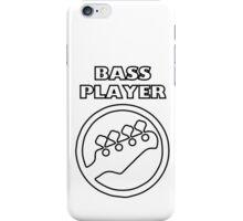 Guitar - Bass Player iPhone Case/Skin