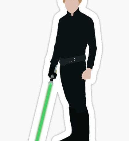 Luke Skywalker 1 Sticker