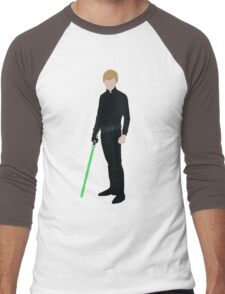 Luke Skywalker 1 Men's Baseball ¾ T-Shirt