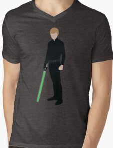 Luke Skywalker 1 Mens V-Neck T-Shirt
