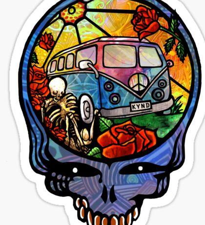 VW Stealie Grateful Dead Sticker
