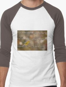 Prairie Warbler Men's Baseball ¾ T-Shirt