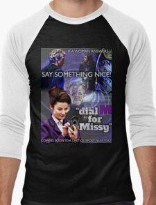 Dial 'M' for Missy Men's Baseball ¾ T-Shirt
