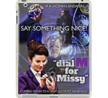 Dial 'M' for Missy iPad Case/Skin