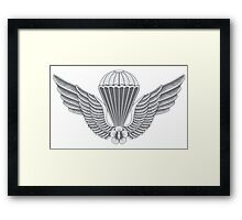 South Korean Airborne Framed Print