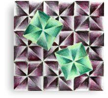 Green & Purple Canvas Print