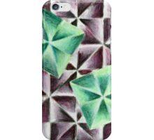 Green & Purple iPhone Case/Skin