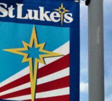 St Luke's Street Lamp and Sign Sticker