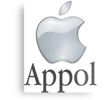 Apple - Appol - LogoFake Metal Print