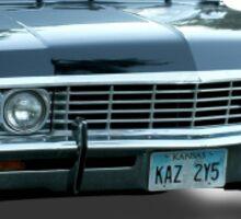 "'67 impala ""Baby"" Sticker"