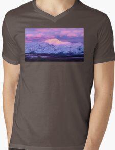 Denali - Alpenglow 5 Mens V-Neck T-Shirt