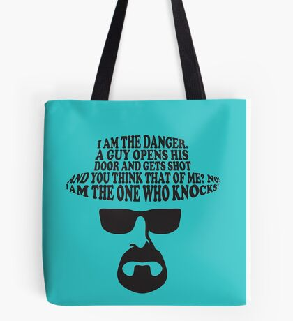Breaking Bad The One Who Knocks Tote Bag