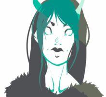 Demon Girl Sticker
