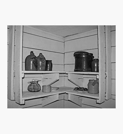 Shelves and Jars Photographic Print