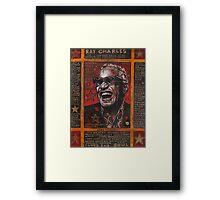 Ray Charles Framed Print