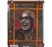 Ray Charles iPad Case/Skin