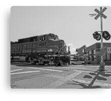 Big Locomotive Canvas Print