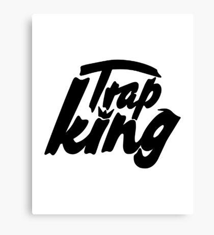 Trap king - version 1 - Black Canvas Print