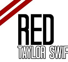 RED Taylor Swift by queenswift