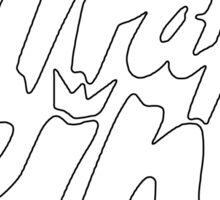 Trap king - version 2 - White Sticker