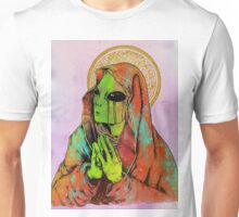 Praying Alien Unisex T-Shirt
