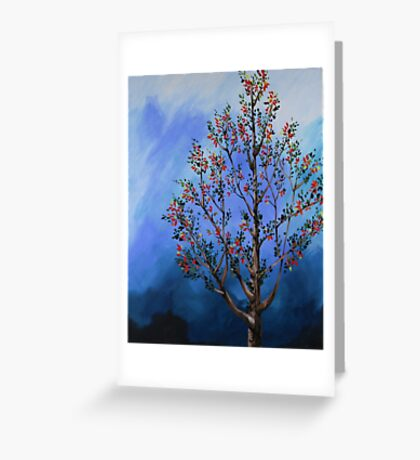 Spring Tree Greeting Card