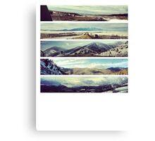 Elevations Texas to Colorado Canvas Print